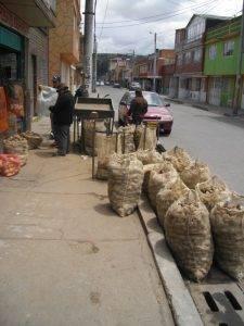 Bogota Street Potatoes