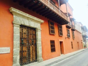 Cartagena Colombia Colonial House 1