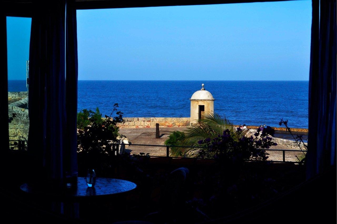 Cartagena Colombia Coast