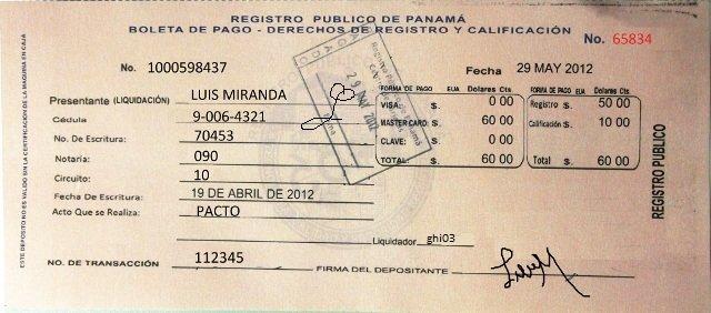 real estate buying process in panama