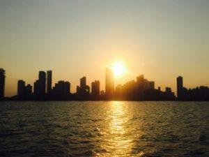 Cartagena Colombia Sunset