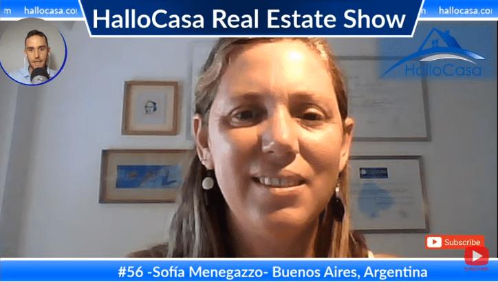 Cómo y donde comprar casa en Buenos Aires, Argentina con Sofía Menegazzo