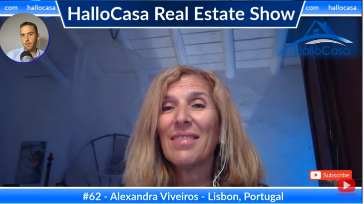 Golden VISA residency in Europe via real estate purchase in Portugal with Alexanda Viveiros
