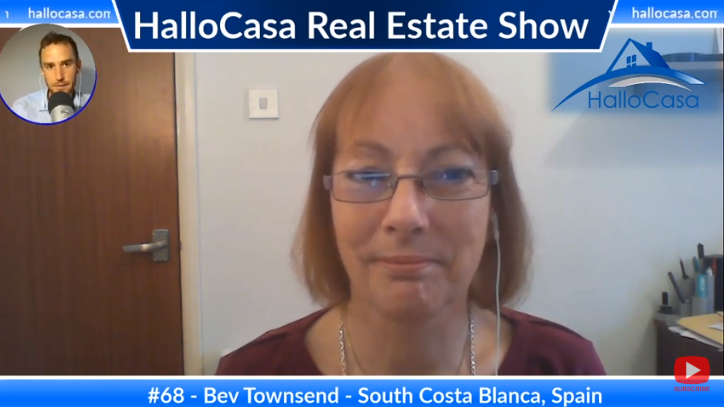 Best practices for Overseas Real Estate Home Buyers in South Costa Blanca, Spain with Bev Townsend