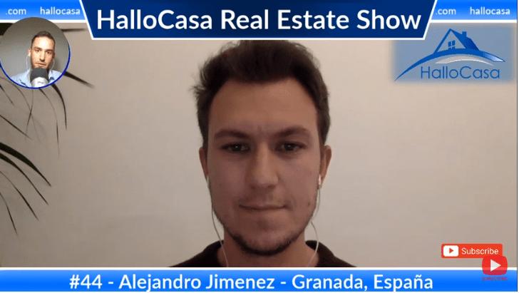Comprar casa en Granada, España: Diseñar, construir, administrar vivienda con Alejadro Jimenez