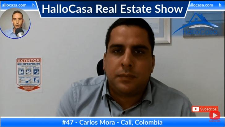 Bienes raíces en Cali, Colombia: una entrevista con Carlos Mora