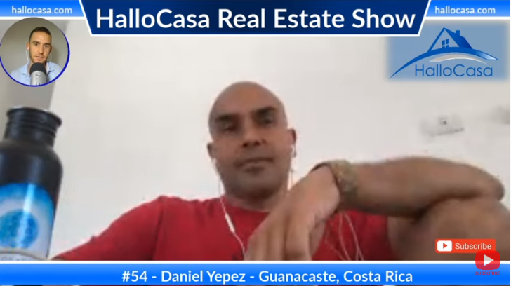 Seeking an alternative lifestyle in Guanacaste, Costa Rica with Daniel Yepez