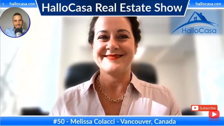 Real estate in Vancouver: an interview with Melissa Colacci from Century21 in Canada