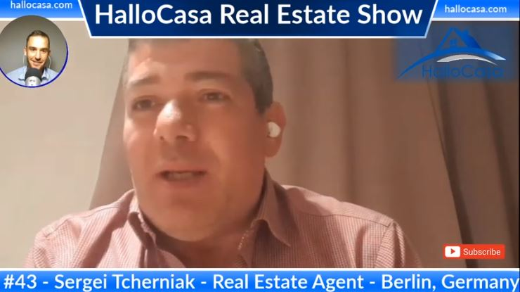 Real Estate in Berlin: Rental Cap, how to buy real estate, Airbnb - Interviewing Sergei Tcherniak